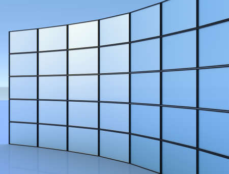 Many screen panels Imagens
