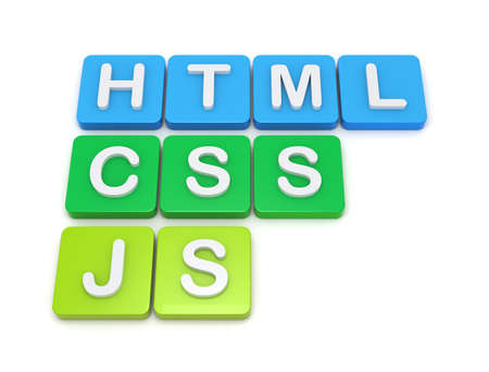 Website development tools HTML CSS JS Imagens
