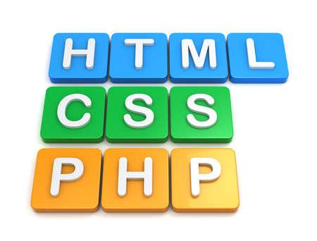 Website development tools HTML CSS PSP