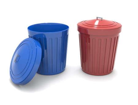 Trash can Imagens - 131786992