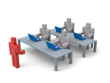 Business training Imagens