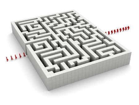 Maze and character