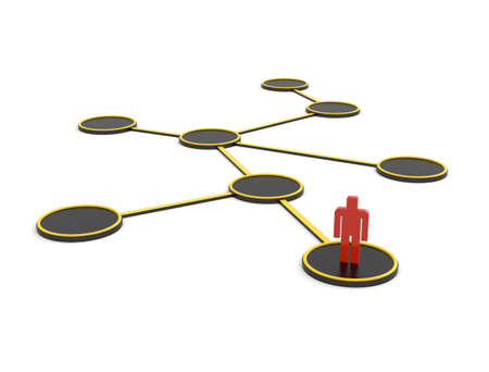 Network with circles