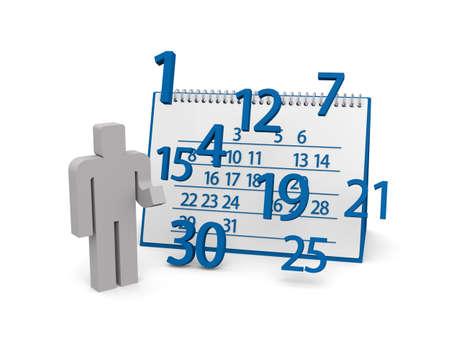 Table calendar Imagens