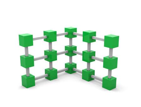 3d cubes Imagens
