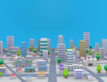 Urban landscape Imagens