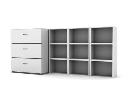 Box cabinet 写真素材