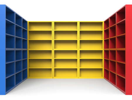 Empty shelf