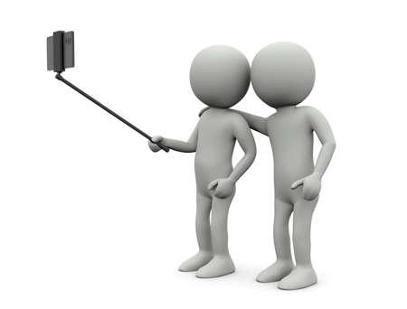 Smartphone in stick