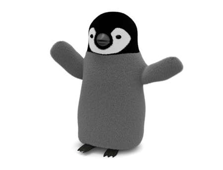 Joyful penguin
