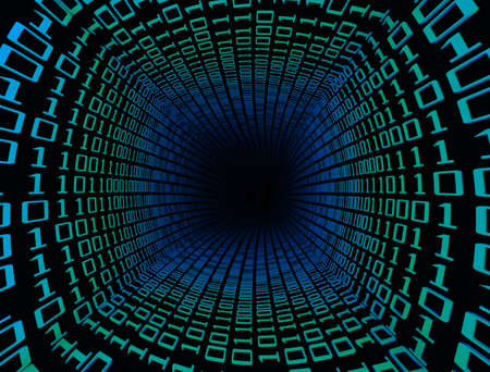 Abstract of Binary code tunnel