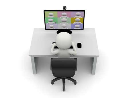Online virtual meetings