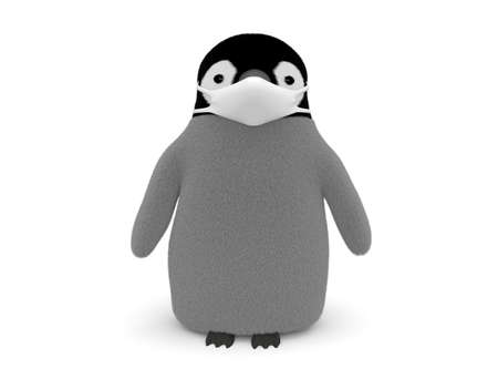 Penguin wearing a mask