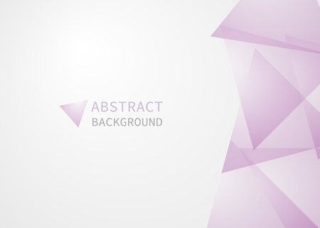 Abstract background of geometric shapes. Geometric shapes pink. Vector illustration, triangle.
