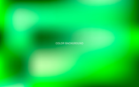 Abstract background of green color. Gradient light background. Vector image with gradient fill.