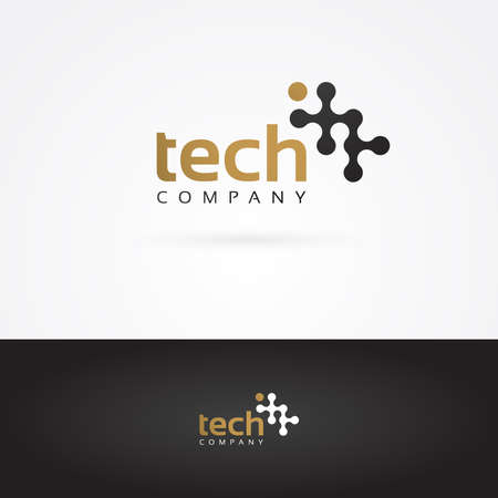 company logo: Vector graphic wavy graphic element