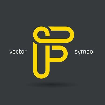 lettres alphabet: conception graphique d�corative alphabet  lettre F  symbole
