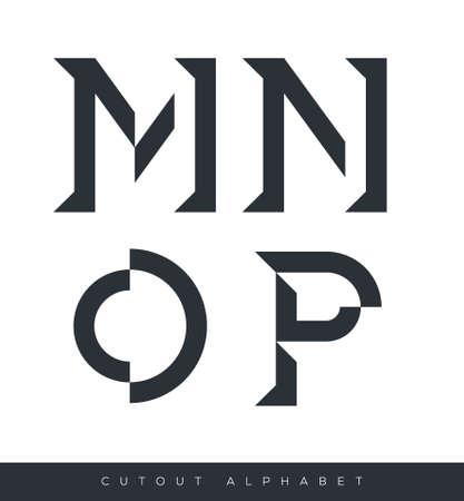 abecedario: Alfabeto tipogr�fico con sombras n�tidas con texto de ejemplo en el fondo aislado