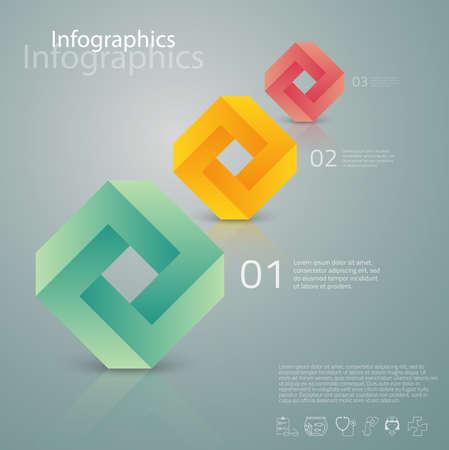 tecnologias de la informacion: Ilustración diseñada cuidadosamente de infografías elementos