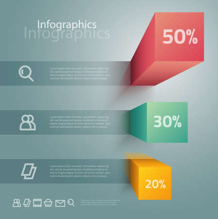 info graphic: Carefully designed illustration of infographics elements