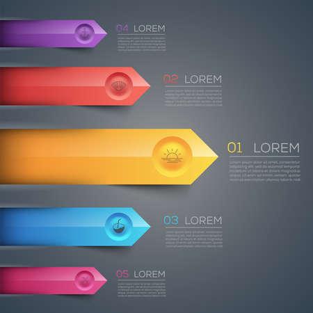 elemento: Illustrazione progettato con cura di infografica elementi