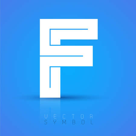 letter f: Vector graphic elegant font with sample text  symbol  alphabet  Letter F