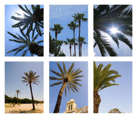 afrika: Postcard from Tunisia Stock Photo
