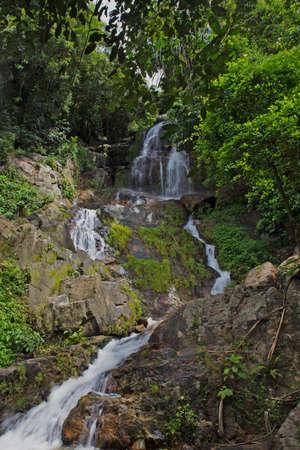 na: Na Mueang waterfall Stock Photo