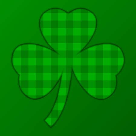 vector illustration of saint patricks day with scotish background Vector