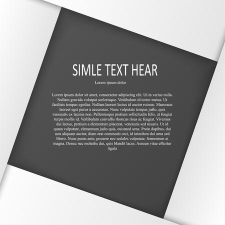 white text print