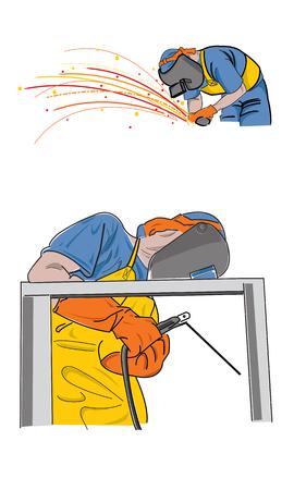 weld: Graphics depicting the welding industry