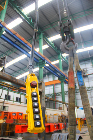 atmosphere construction: atmosphere in the construction, installation and safety of crane Industry. Stock Photo