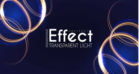 Moion Light Effect. Lens Flare. glowing Spyral. Abstract Shining Background. Trendy Magic Design.
