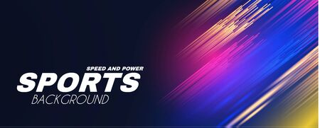 Abstract sport background with motion elements. Light dynamic effect.