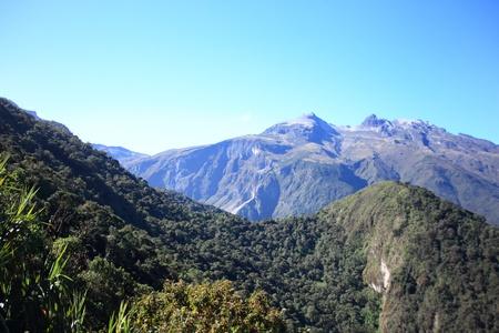 andes mountain: Andes mountain in Ecuador