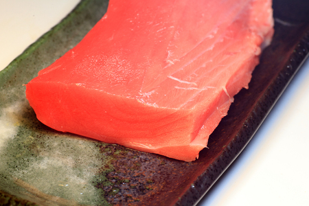 Tuna sashimi food in Japan
