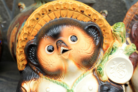 信楽日本陶磁器 写真素材