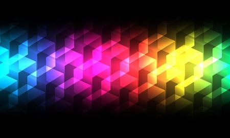 spectrum background.  Vector