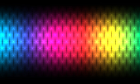 spectrum background. Illustration