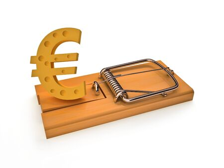 Euro in a mousetrap
