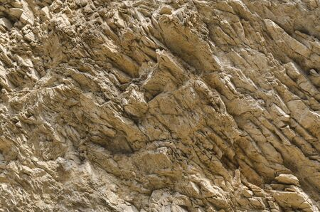The texture of the surface of a mountain in the North Caucasus, Russia Stock Photo