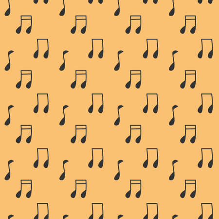 Melody Song Seamless Pattern