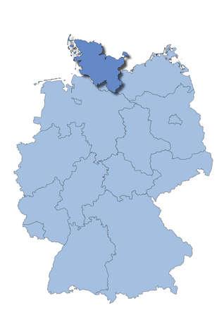holstein: Germany - Schleswig-Holstein Illustration
