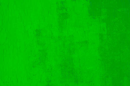 Abstract bright green grunge background of Old wall