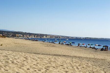 ionio: La beach of Roccelletta of Borgia, Italy Stock Photo