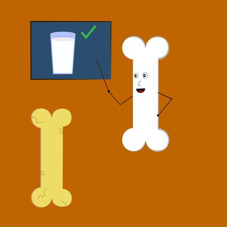 骨カルシウムとミルクについて教えて