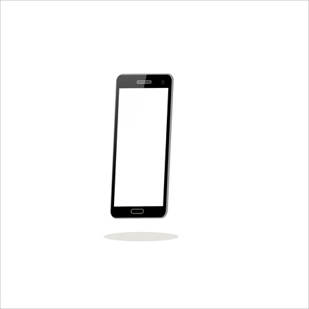 Smartphone on white background Stock fotó - 86217408
