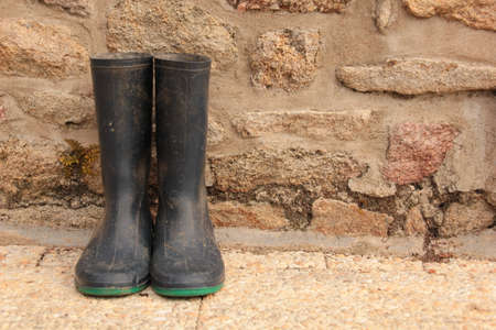 muddy clothes: Footwear