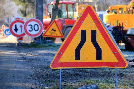 roadwork: Roadwork traffic sign