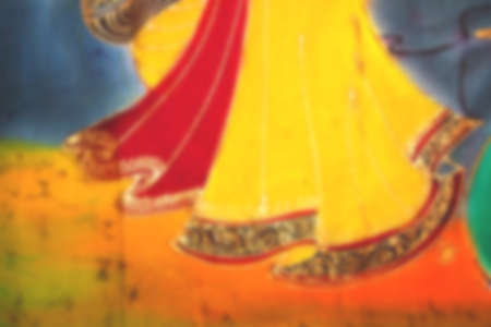 hem: blurry background of a skirt hem